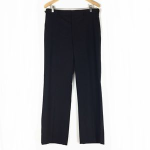 Valentino Women's Pants Black Wool Sz 44/8 EUC